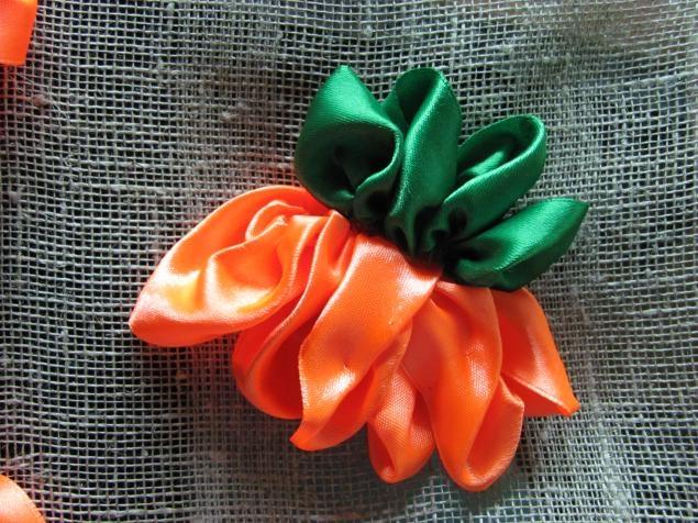 Мастер класс по вышивке лентами цветов