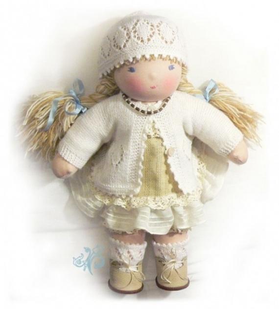 Пример создание вальдорфской куклы