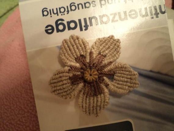 техника плетения цветочка от Петерс Розы (продолжение)