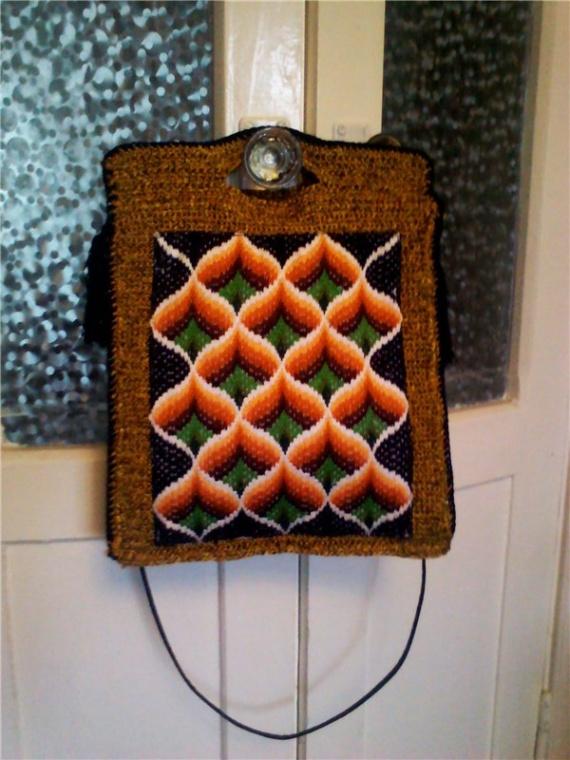 сумка с вышивкой 2 сторона