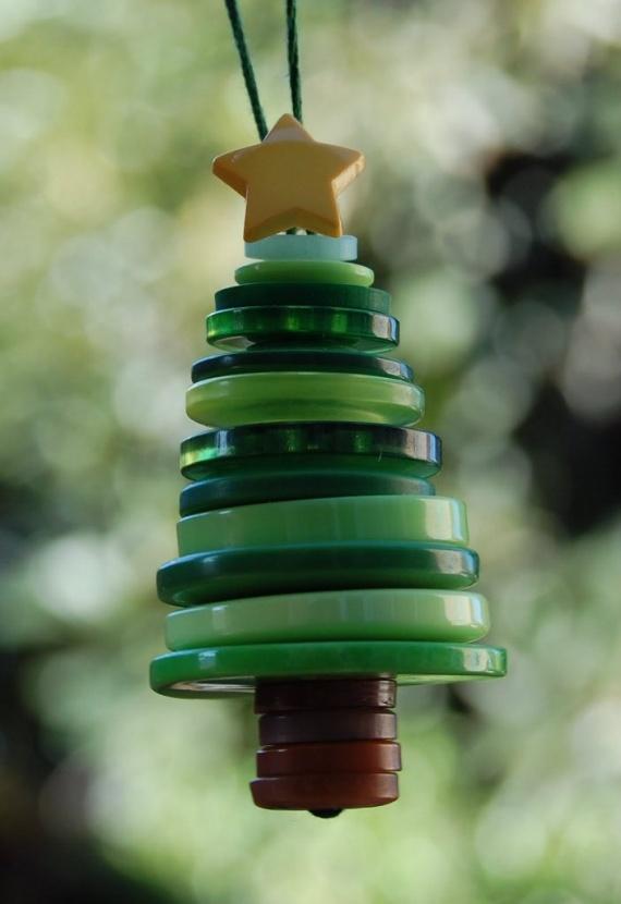 钮扣可以做什么?:13、钮扣的创意 第一部分:新年 - maomao - 我随心动