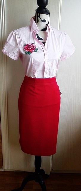 Феечка получила от своей феечки посылочку! И вышила блузочку!