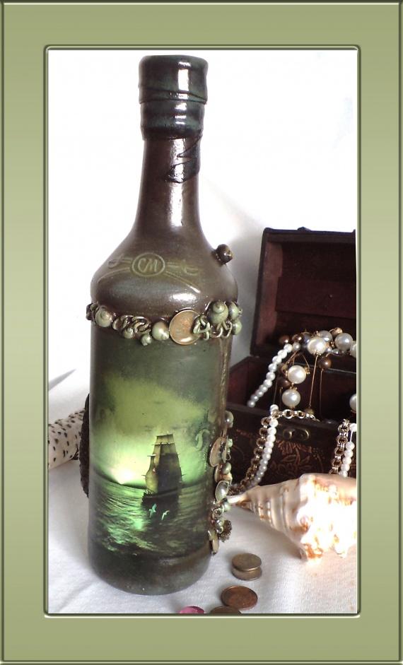 Еще одна морская бутылка, но провокационная:)