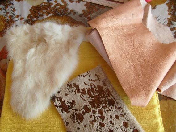 МК по изготовлению цветка из меха