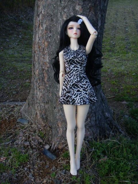 Первое платье на БЖд ростом 60 см