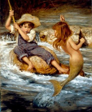 Воспоминание о детстве от художника Джима Дейли