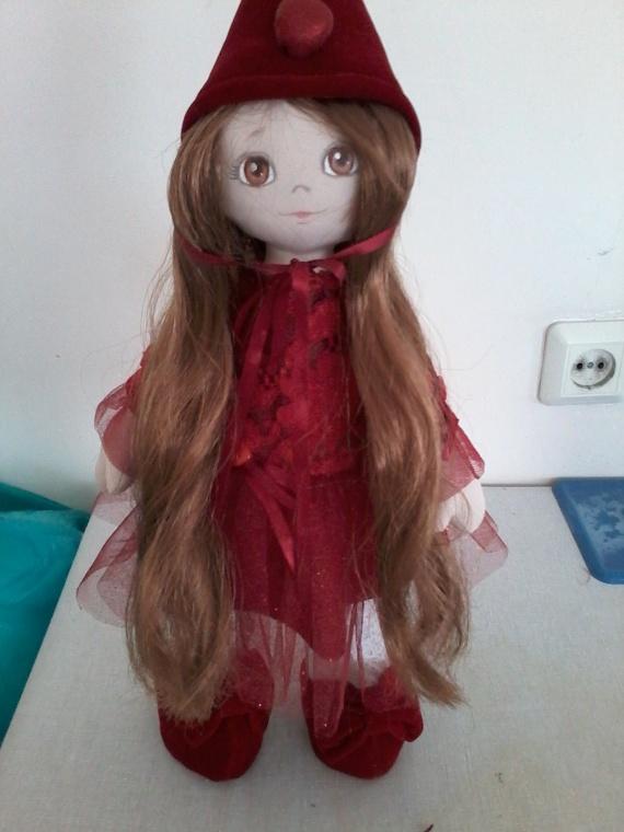 Моя очередная кукла  Афина