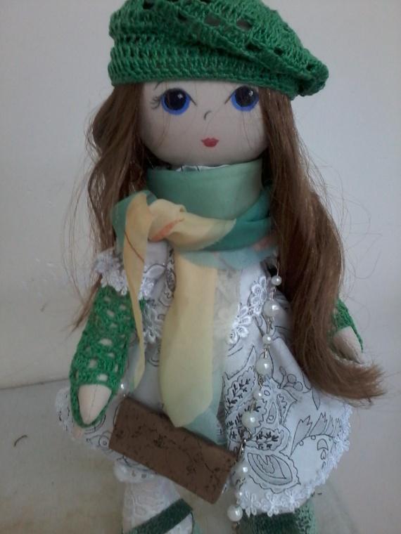 Кукла большеножка Олеся