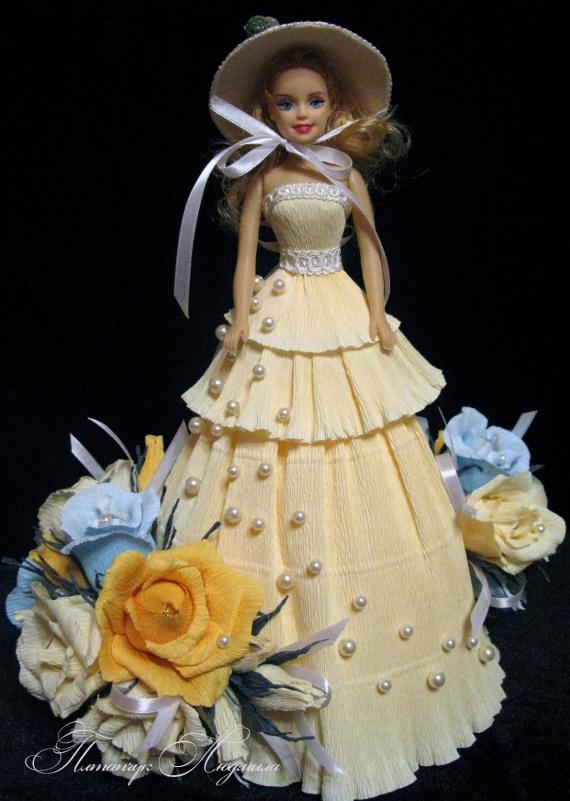 Конфетная кукла
