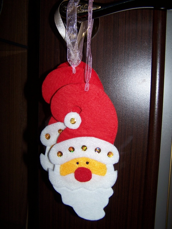 Фетровый Дед Мороз