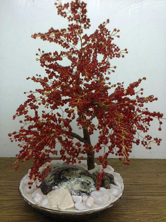 Деревья из бисера-2