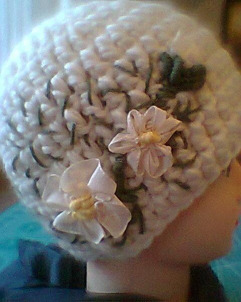 шапки -  крючком и на спицах