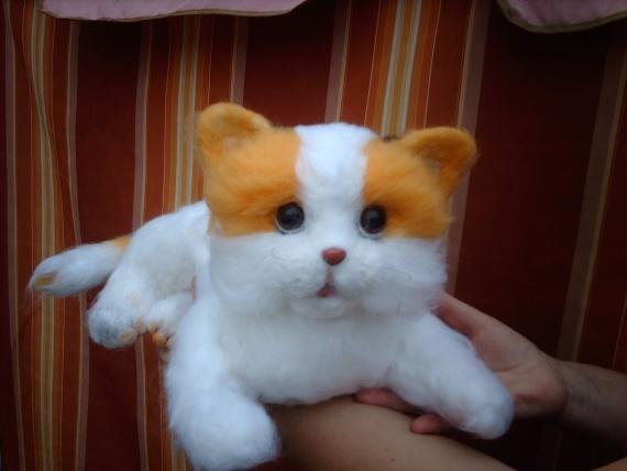 Кошечка Люся