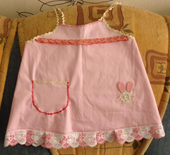 Домашние платьица для годовалой дочки
