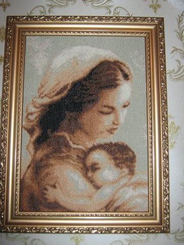 """Ікони """"Мадонна з немовлятком"""""""