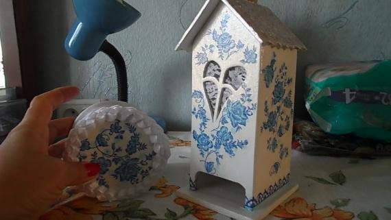 Двоечка: чайный домик и шкатулочка