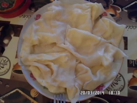 Национальное блюдо - тухумбарак