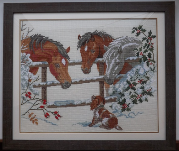 """""""Лошадки и щенок"""""""