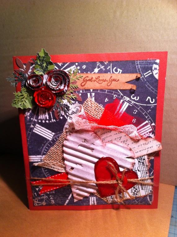 Еще две открытки с сердцами
