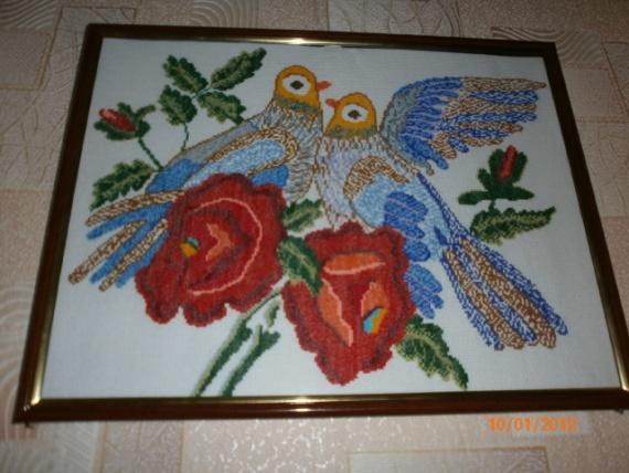 Голубь и голубка ... символ любви