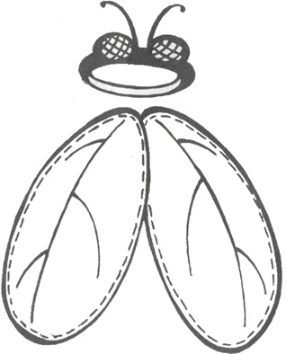 Как сделать крылья мухи своими руками для костюма