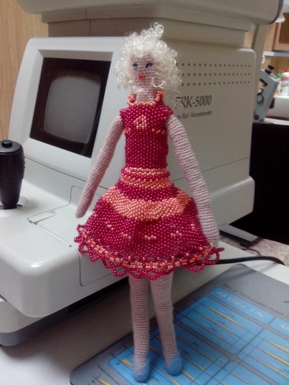 платье из бисера