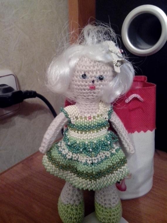 опять бисерное платье