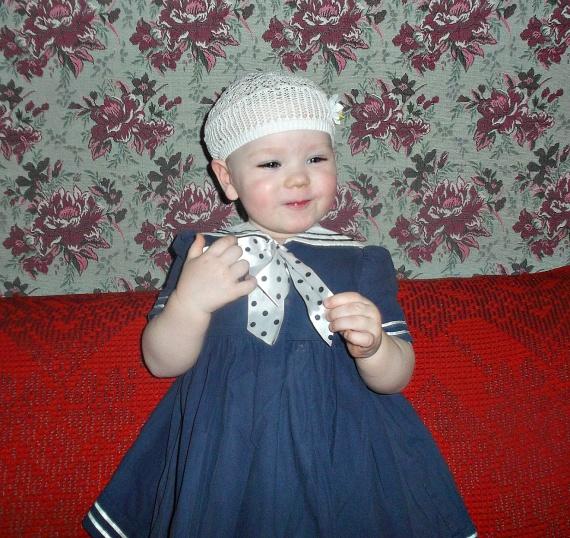 Внучечка - литовочка, на воспитании у русской бабушки ;)