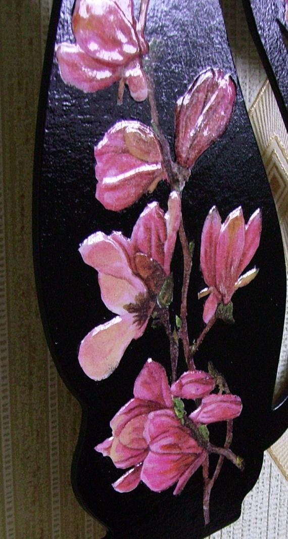 фрагмент объемные цветы