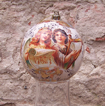 Новогоднии поделки (шары)