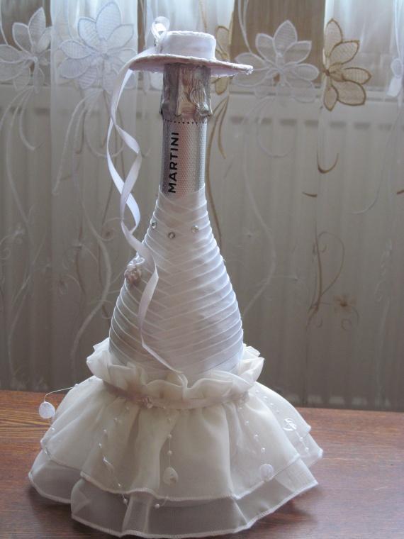 Бутылочки сыну на свадьбу.
