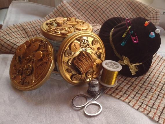 Игольничка-шляпка