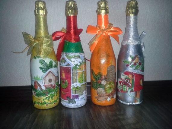 Бутылочки с волшебством