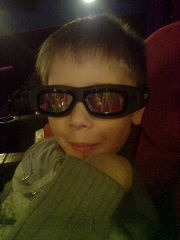 поход в 3D кинотеатр