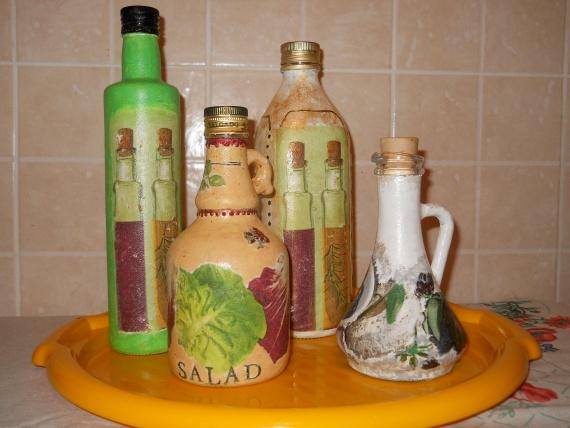Любимые бутылки для масла