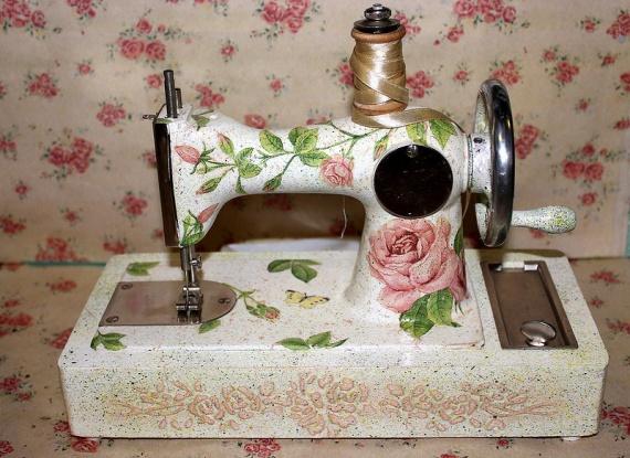 Швейная машинка -настальгия
