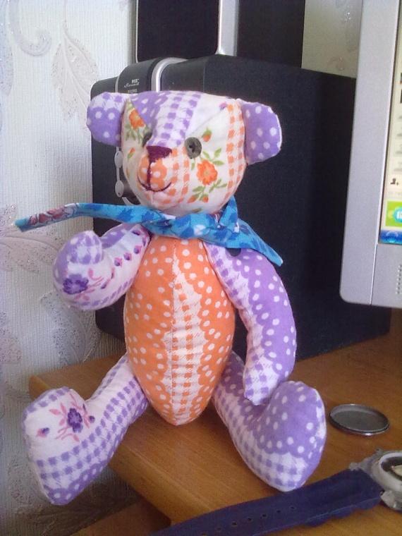 медвежонок-моя первая игрушка внучке,