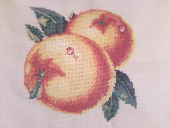 Мои персики!