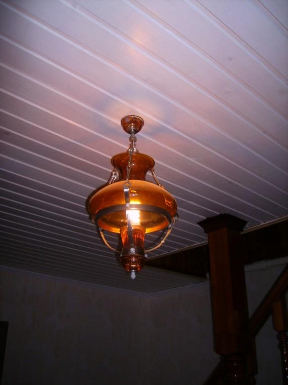 Лампа  а ля Тиффани
