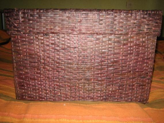 плетение ящика из бумажных трубочек ( продолжение)