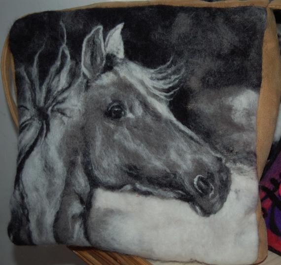 """Арт-сумка """"Лошадь"""""""