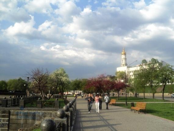 Фото родного города ( ответ на фото г. Самары)
