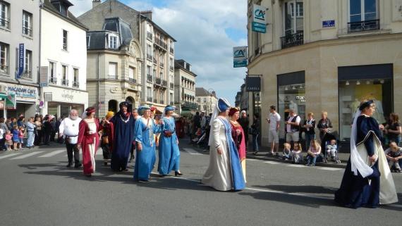 заключительная часть праздника Жанны Д'арк