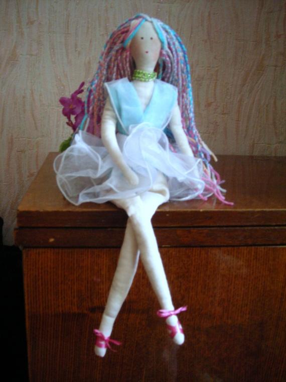 Моя первая кукла Тильда.