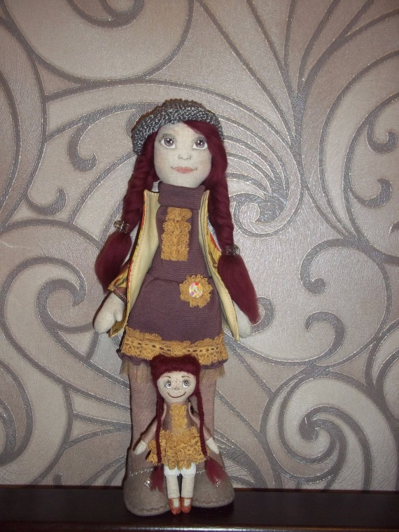 Новая куколка. хвастушки