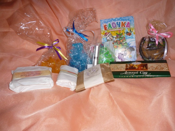 Мои подарочки от феи