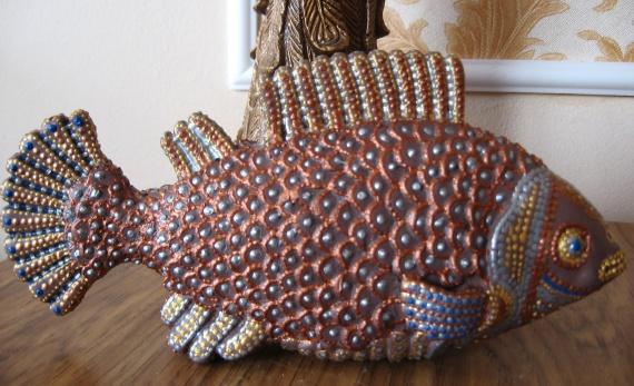 Декоративная рыбка.