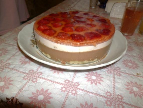 Тортик к празднику.
