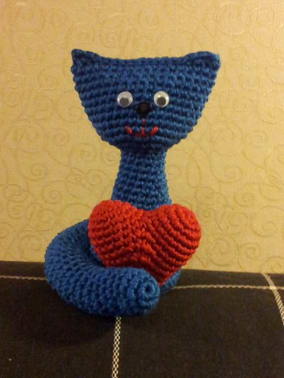 Описание синего кота