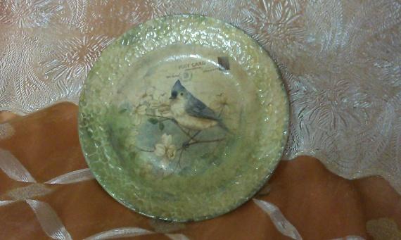 Первая тарелочка